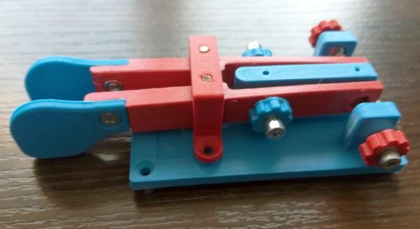 Kolorowe Manipulatory Morse z drukarki 3D