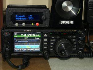 Rotator controller SP5GNI home part
