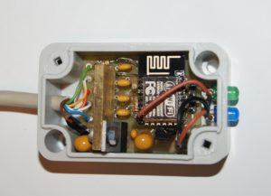 View of wireless anenna switch controler SP5GNI