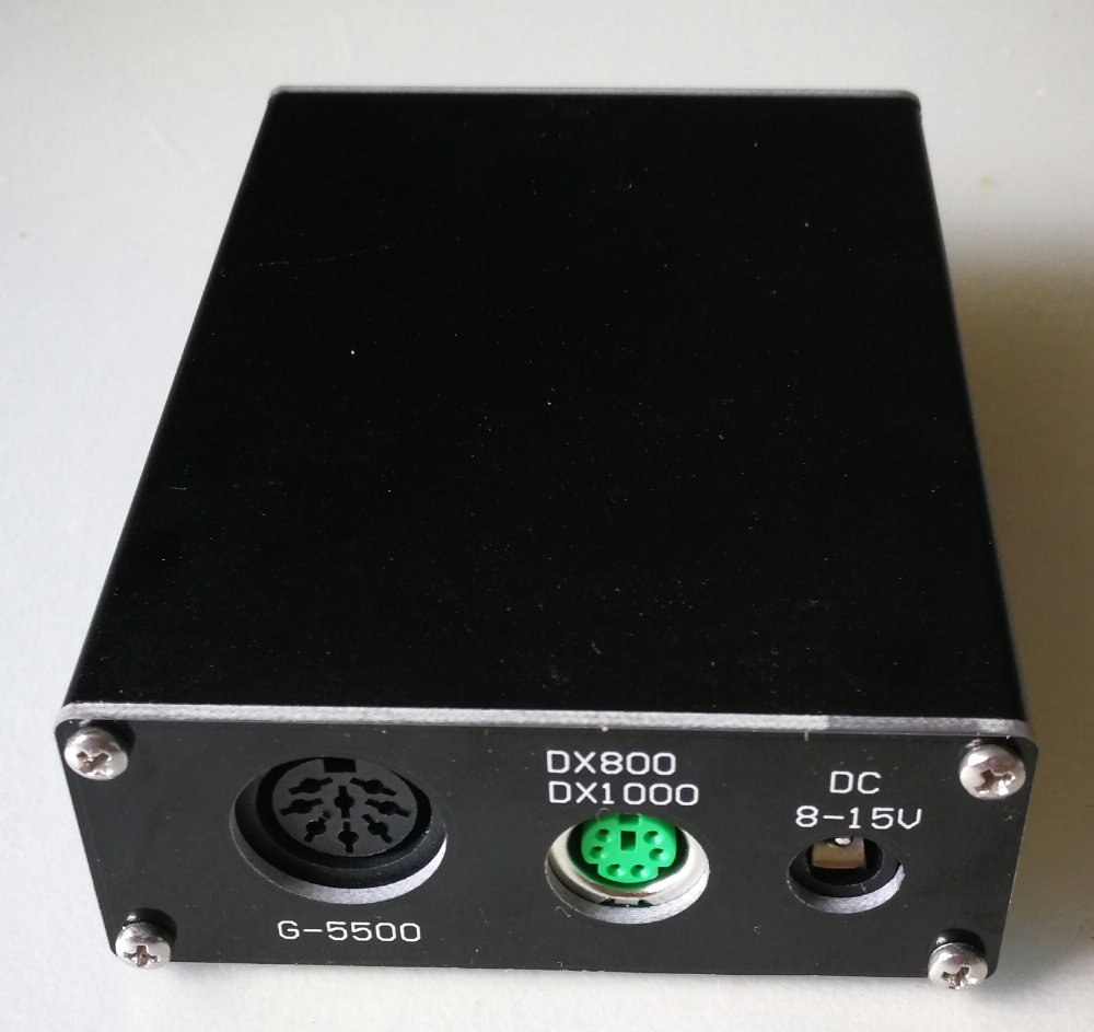 Rotator Controller Interface for YAESU G-800DXA, G-1000DXA