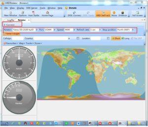 Rotator Controller Interface for YAESU G-800DXA, G-1000DXA