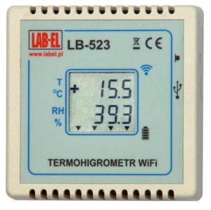 Termohigrometr WiFi LB-523