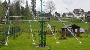 System antenowy do EME Rafała SP9VFD