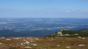 Zapierający dech widok na Kotlinę Jeleniogórską