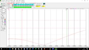 Test anteny Mosley MINI-32-A - Pomiar SWR - 20 m