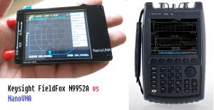 Porównanie NanoVNA z z N9952A