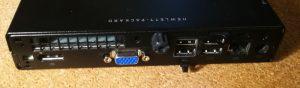 Mini-PC HP Elitedesk 400 back
