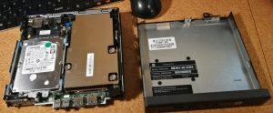 Mini-PC HP Elitedesk 400 inside