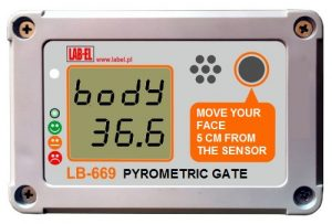 Non-contact body temperature measurement - COVID prophylaxis