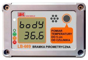 Bezkontaktowy pomiar temperatury ciała ludzkiego - profilaktyka COVID