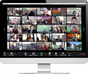 ZOOM application for teleconferences