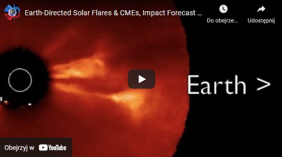 Earth-Directed Solar Flares & CMEs